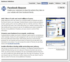 Facebook Beacon - what's all the fuss?