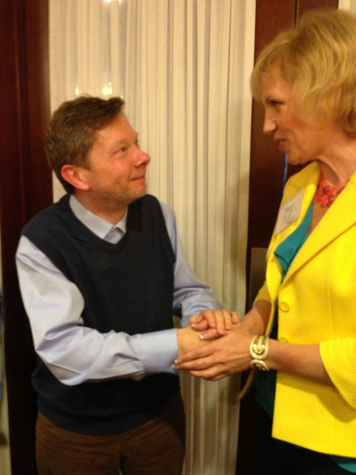 Mari Smith and Eckhart Tolle