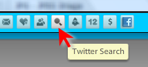 TweetDeck search