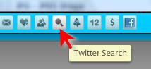 TweetDeck search