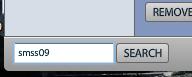 Hashtag search in Seesmic Desktop