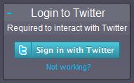 Twitterfall login