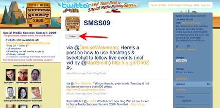 Social Media Success Summit Twitter account