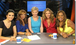 Ellie Drake, Karina Smirnoff, Mari Smith, Tava Smiley, Rolonda Watts