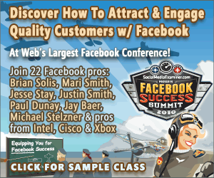 Register now for the Facebook Success Summit 2010!