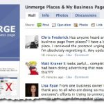 Facebook: Unmerge Place Page and Business Page