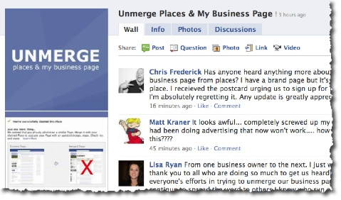 Should You Merge Your Facebook Place Page and Business Page?