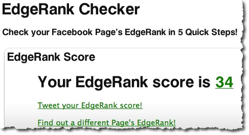 EdgeRank Checker - Mari Smith Score