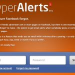 Hyper Alerts Signup Page