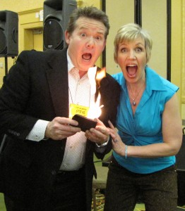 Steve Spangler and Mari Smith