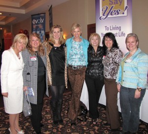 Mari Smith, Peggy McColl and friends in Gatineau, Quebec, Canada