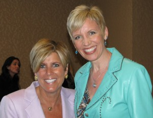 Suze Orman and Mari Smith