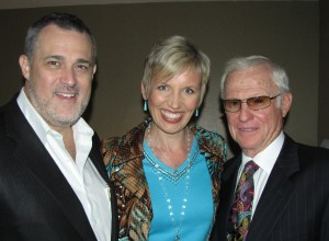 Jeffrey Hayzlett, Mari Smith, Harvey Mackay
