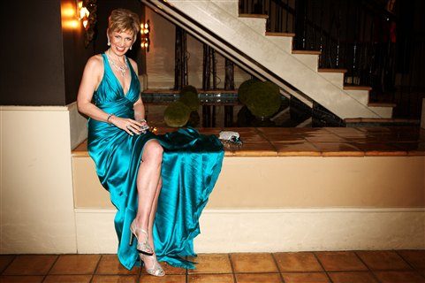 Mari Smith at the 2010 Grammys