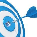 Facebook ad targeting dartboard