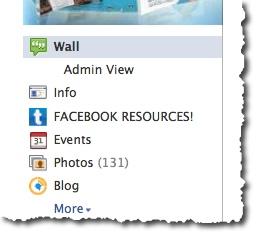Rename Facebook App Tabs