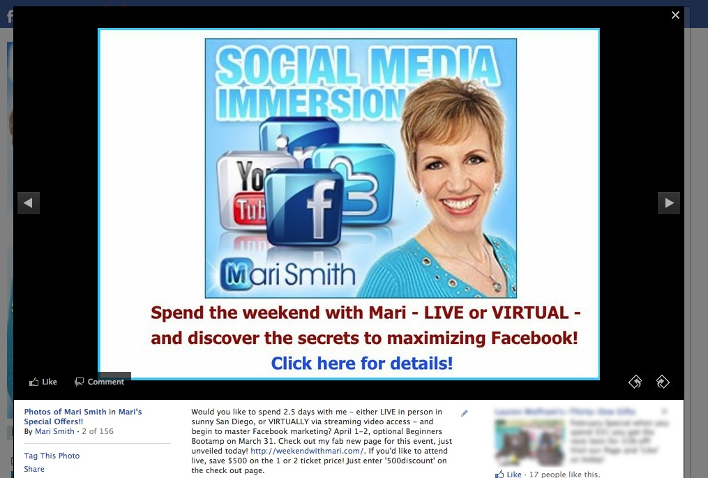 Social Media Mastery Immersion - Join Mari Smith!