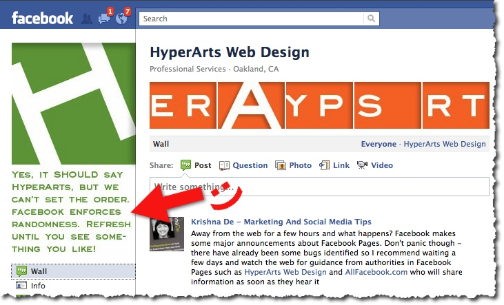HyperArts Facebook Page Photo Strip