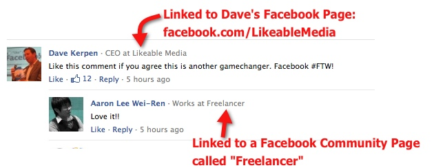 Facebook Comments - Employer Link