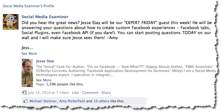 Example Expert Friday - Guest from previous Summit