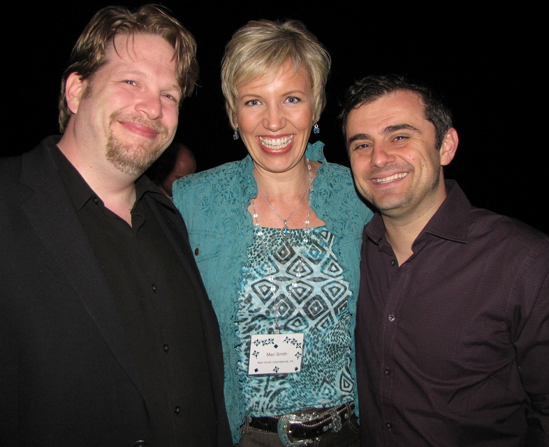 Chris Brogan, Mari Smith, Gary Vaynerchuk