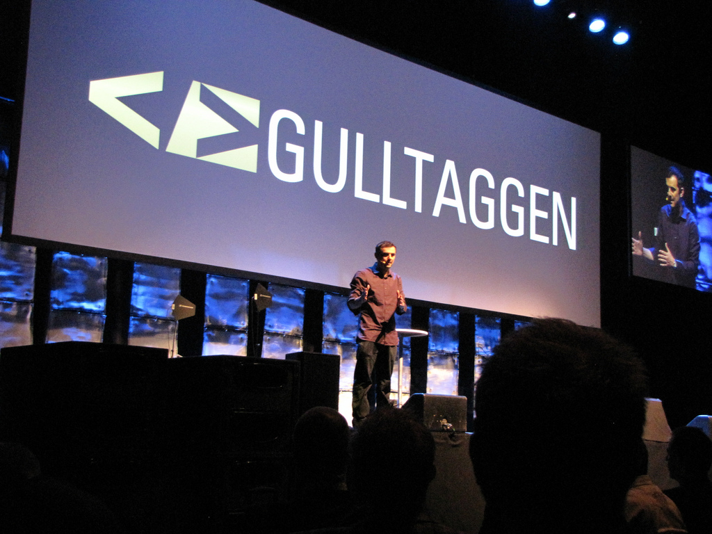 Gary Vaynerchuk at Gulltaggen, Oslo, Norway