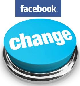 Facebook Change Button