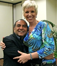 Don Miguel Ruiz Sr and Mari Smith