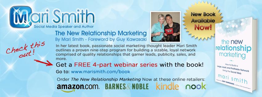 Mari Smith - Facebook Timeline Cover Image - Book