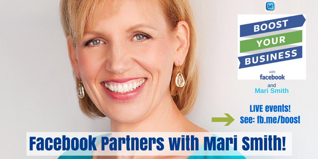 Facebook Partners with Mari Smith!