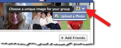 Facebook Group - Add Cover Image