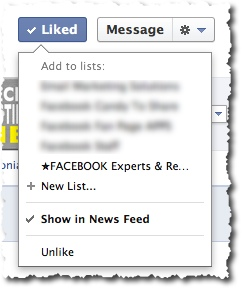 Facebook Liked Button Options