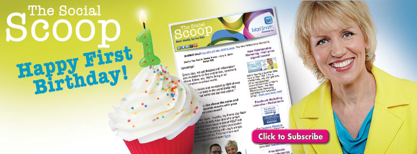 The Social Scoop - First Birthday