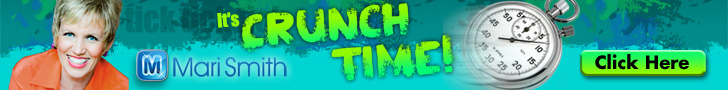 CRUNCH TIME - free online mega event with Mari - click for details!