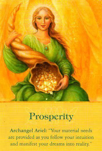 Archangel Ariel - Prosperity