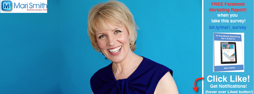 Mari Smith - new Facebook cover image