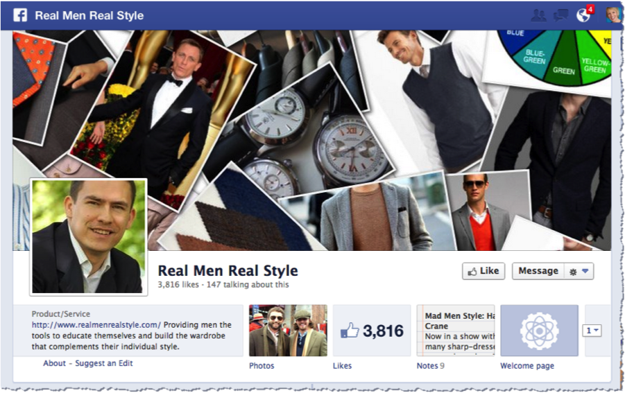 real men real style facebook page