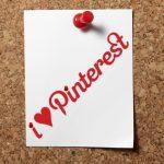 I Heart Pinterest Cork Board