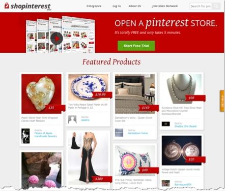 Shopinterest - Pinterest Store