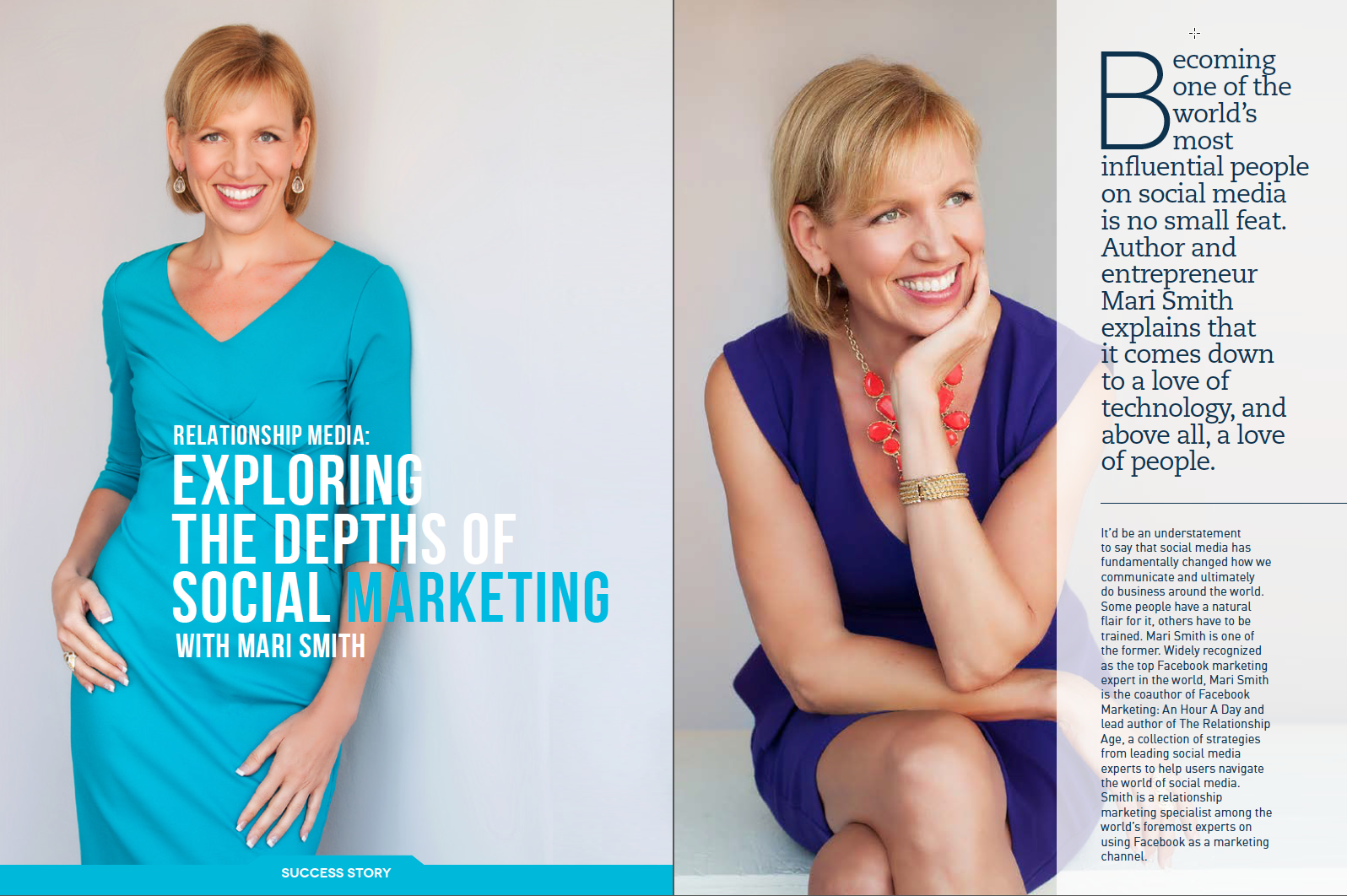 Foundr Magazine Mari Smith article 2page