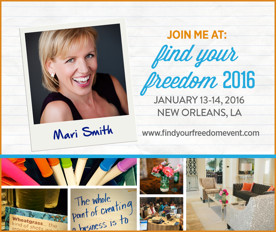 find your freedom mari smith jeanine blackwell