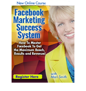 Facebook Marketing Success System - online training course with Mari Smith and Dennis Yu