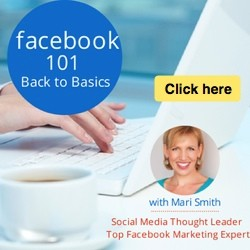 Facebook 101: Back to Basics - new online training course with Mari Smith