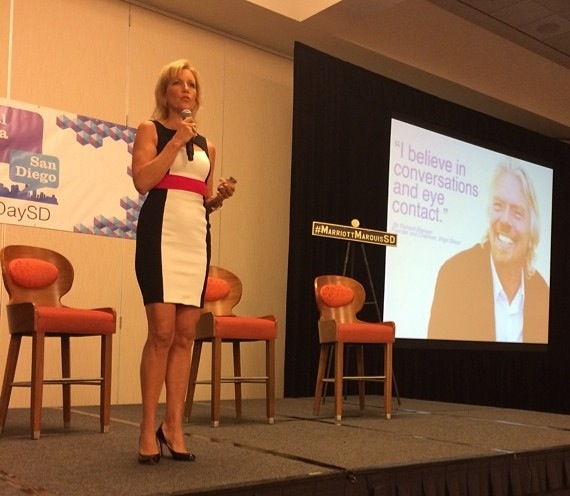 Mari Smith - Social Media Day San Diego 2014 - Richard Branson