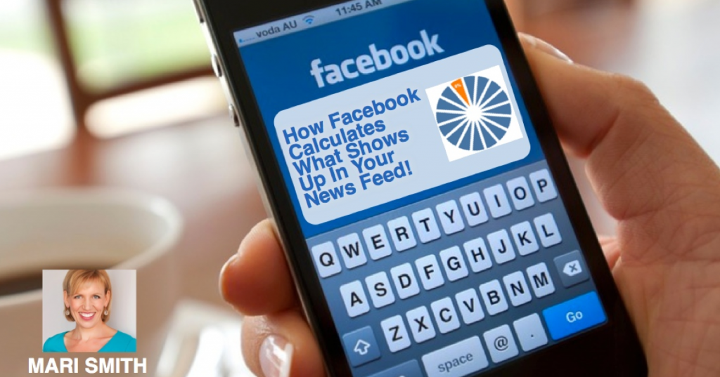 Facebook calculate news feed