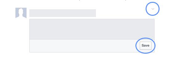 facebook save button