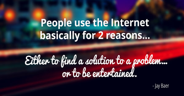 Jay Baer internet social media quote