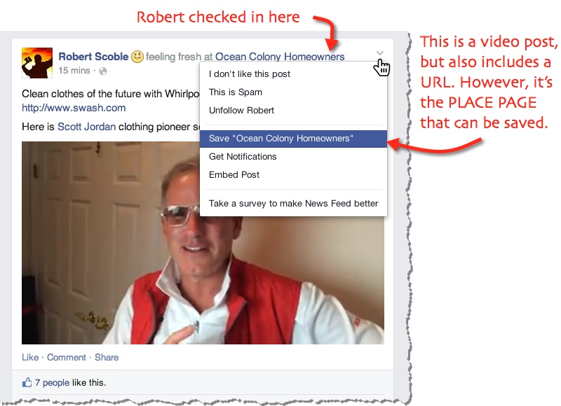 robert scoble facebook post swash