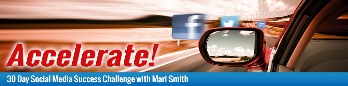 ACCELERATE your social media with Mari Smith