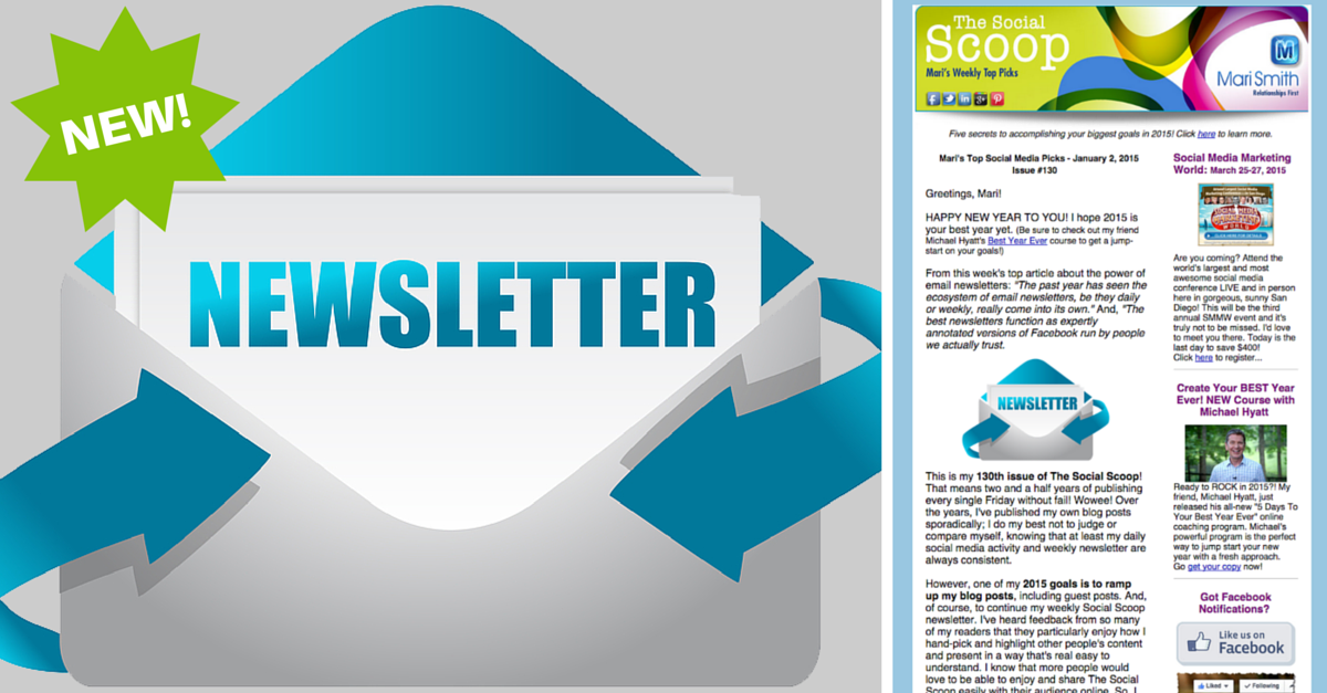 Why Newsletters Are The Future Of Online Media: The Social Scoop Issue 130
